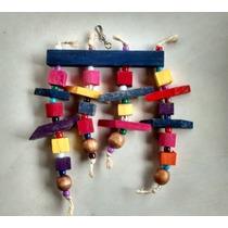 Brinquedo Escada Luxo Para Calopcita