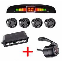 Kit Sensor De Estacionamento + Câmera De Ré Prova D