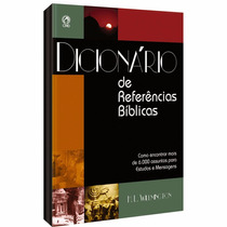 Dicionário De Referências Bíblicas - Cpad - Frete Grátis