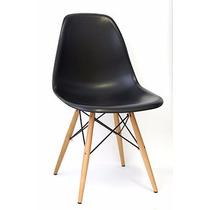 Cadeira Design Dkr - Charles Eamens - Base Madeira