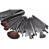 Incéis Para Maquiagem Kit Estojo 32 Pincéis - Importado
