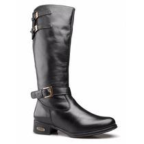Bota Feminina Montaria Country Couro Legítimo Capelli Boots