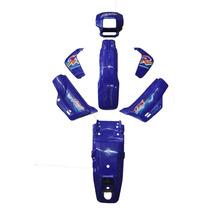 Kit De Carenagem-honda Xlr 125 - + Adesivo - 8 Peças Azul 98