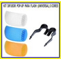 Kit Difusor Pop-up Para Flash (universal) 3 Cores