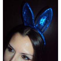 Fantasia Coelho Azul Coelhinho Azul Orelhas E Gravata