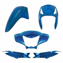 Kit Carenagem Completa Biz125 Azul 2006 Modelo Original
