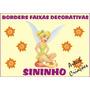 Borders Faixas Decorativas Paredes Sininho - Tinker Beel