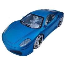 Ferrari Controle Remoto Acende Farol Led Nas Rodas
