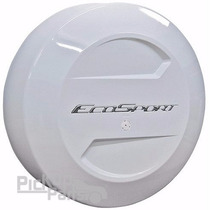 Capa De Estepe Ecosport Rígida Branco