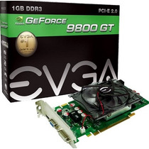 Placa De Video Geforce 9800 Gt 1gb 256 Bits Com Defeito