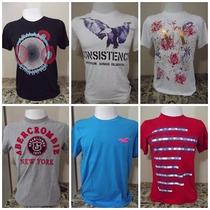 Camisas De Diversas Marcas Armani, Hollister, Abercrombie