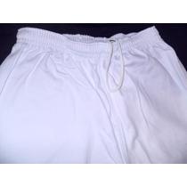 Calça Brim Branca 1 Bolso