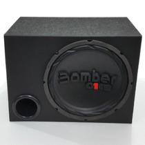 Caixa De Som Sub 12 Subwoofer Bomber One 200w Rms S4 Brinde