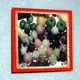 Placa Decorativa 27x27cm * Bolas .de Sorvete * Photo