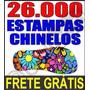 + D 20.000 Estampas Chinelos Camisetas Canecas Vetores + F.g