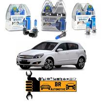 Kit Lâmpadas Super Brancas Farol + Milha Chevrolet Vectra Gt