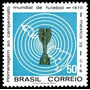 Brasil Copa Do Mundo México 1970 Sc-678.mint.