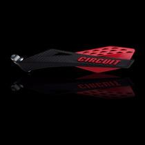 Protetor Mão Circuit Fênix Carbon Preto/vermelho Universal