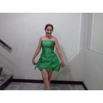 Vestido Sininho Tinkerbell - Fantasia Cosplay