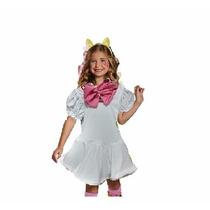Fantasia Gatinha Marie Luxo Pp (2 A 4 Anos)