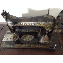 Maquina De Costura Singer Antiga