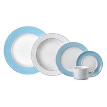 Aparelho De Jantar E Chá Maitê 30 Peças - Porcelana Schmidt