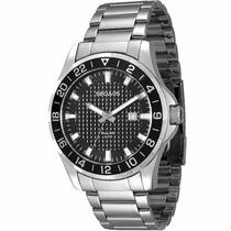 Relógio Seculus Masculino Long Life 28361g0svna1 Fundo Preto