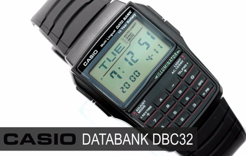 c86279d7282 São Paulo. R  220. 5 vendidos. Relogio Casio Dbc 32 Databank Calculadora  Alarme Crono Luz
