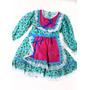 Vestido Junino Infantil Alix - Tamanho 4 Anos