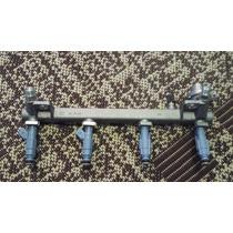 Flauta Bico Injetor Vectra E Astra 1.8 16v De 96a02 Gm