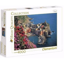 Quebra Cabeça Import Puzzle Gigante De 4000 Peças Vernazza