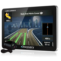 Gps Discovery Channel 4.3 Slim Aquarius Com Camera De Ré.