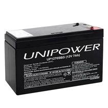 Bateria Selada Nobreak 12v 7a Para Alarmes E Cerca Eletrica