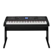 Piano Digital Yamaha Dgx-660b Preto 88 Teclas Com Estante 19