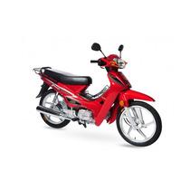 Rabeta Dir E Esq Vermelha Shineray Phoenix Gold 50cc