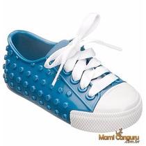 Melissa Mini Melissa Polibolha Azul/branco 31094