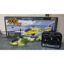 Helicoptero Elétrico Heli-max Axe Ez 4 Canais Completo