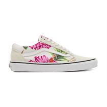 Tênis Vans U Old Skool Hawaiian Floral White Feminino