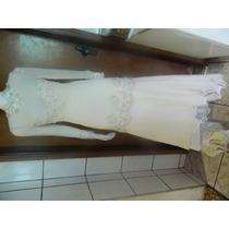 Vestido De Noiva De Seda