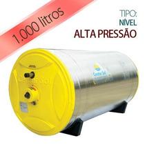 Aquecedor Solar 1000 Litros Inox - Alta Pressão - Boiler