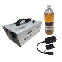 Máquina De Fumaça 1200w 220v + Controle Sem Fio + Líquido