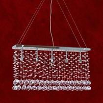 Lustre Pendente Cristal Iluminacao Parede Sala 2238-9-pd Mr