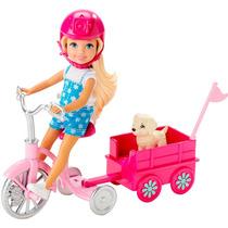 Boneca Barbie Chelsea Com Filhote - Mattel Original