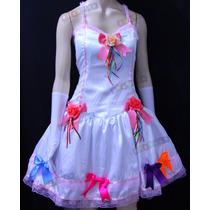 Vestido Noiva Junino Adulto Festa Junina Caipira Luxo