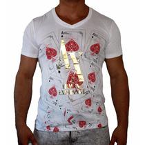 Blusa / Camisa Armani Exchange T-shirt Masculina Original