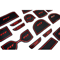 Kit Acessório Honda New Fit Tapetes P/ Portas Objetos Etc
