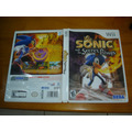 Nintendo Wii Sonic The Secret Rings Midia Original Raro!