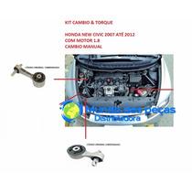 Kit 02 Cambio E Torque New Civic 06/12 Cambio Manual