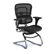 Cadeira Raynor Ergochair Interloctor Visitante Ergonômica