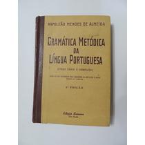 Livro Gramatica Metodica Lingua Portuguesa Almeida 1950